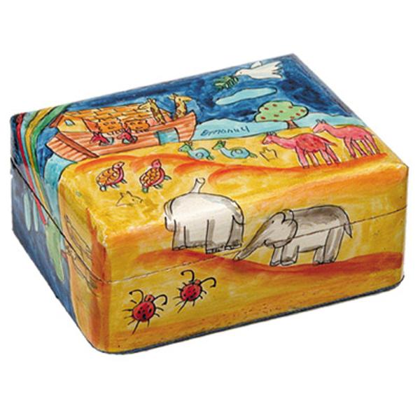 Picture of קופסת תכשיטים קטנה - תיבת נח - BS-2   יאיר עמנואל