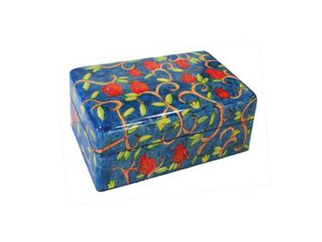 Picture of קופסת תכשיטים קטנה - רימונים - BS-6 | יאיר עמנואל