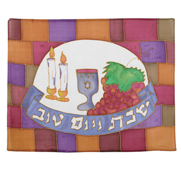 Picture of כיסוי חלה - ציור על משי - כותל - CSY-7 | יאיר עמנואל
